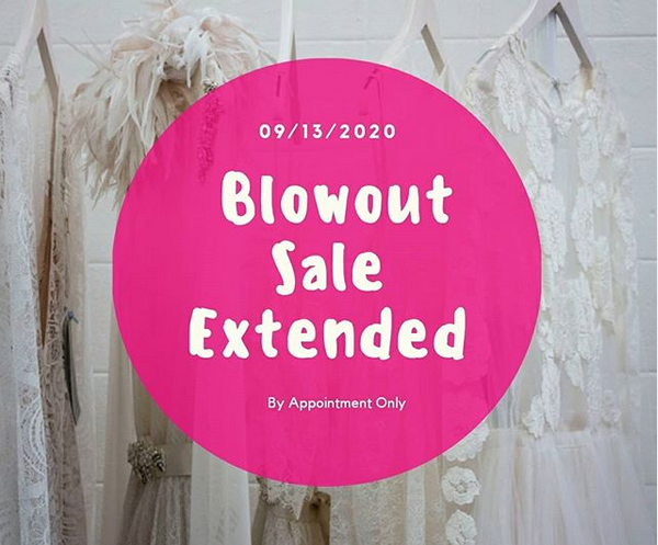 Blowout sale extended